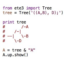 Working With Tree Data Structures — ETE Toolkit - analysis